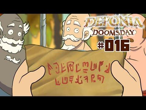 Let`s Play Deponia Doomsday ☼ (HD/German/Blind) ☼ #016 ☼ Schönschrift für Anfänger