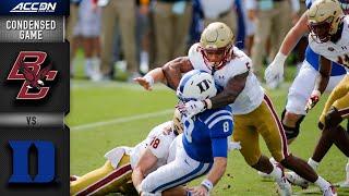 Boston College vs. Duke Condensed Game   2020 ACC Football