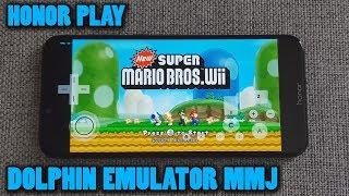 Honor Play - New Super Mario Bros. Wii - Dolphin Emulator 5.0-10648 (MMJ) - Test