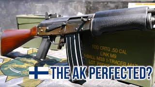Valmet RK 62 M76 (The AK Perfected?)