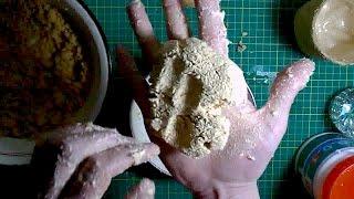 видео Как правильно сварить клейстер из муки для обоев, текстиля, для детского творчества