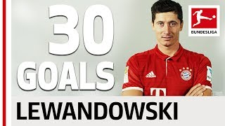 Robert lewandowski - all his goals 2016/2017 season