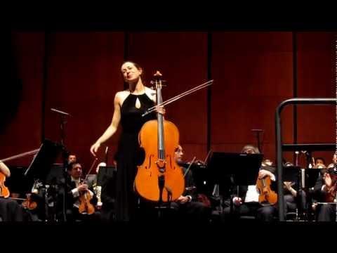 Natalie Clein en Chile. Teatro del Lago, Frutillar.