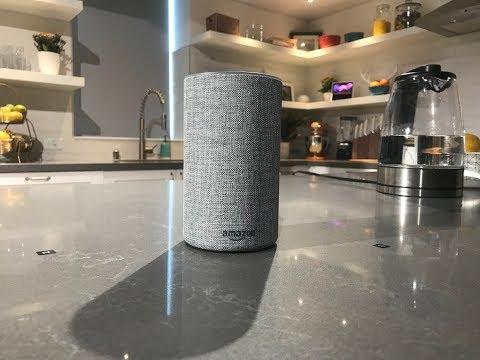 The New Amazon Alexa Echo 2 w/ Logitech Circle 2 cam (2017 ad)