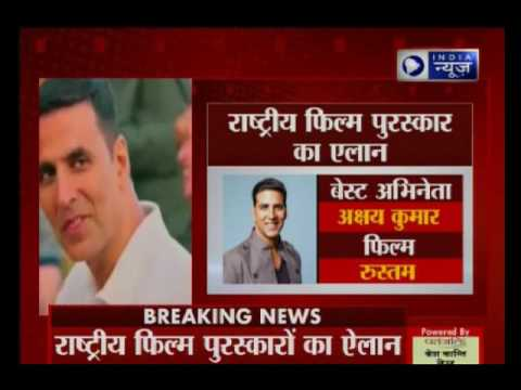 Akshay Kumar wins the title for Best actor in National Film Awards