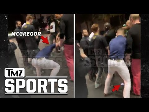 The Bacon Blog - Here's the video of Conor McGregor smashing a guys phone