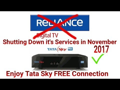 Reliance Digital TV Shutting Down & Enjoy Tata Sky Connection Absolutely FREE (Must Watch)