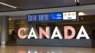 Calgary Airport (YYC) International Arrivals Terminal