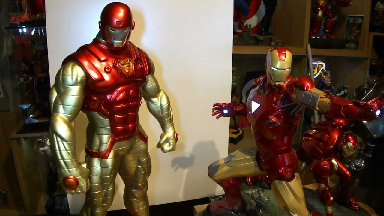 Iron Man Thorbuster Statue Come Get Some Youtube