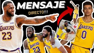 💥LEBRON JAMES DESAFIA a KUZMA!!! 😱 Un nuevo BIG 3 en LAKERS???