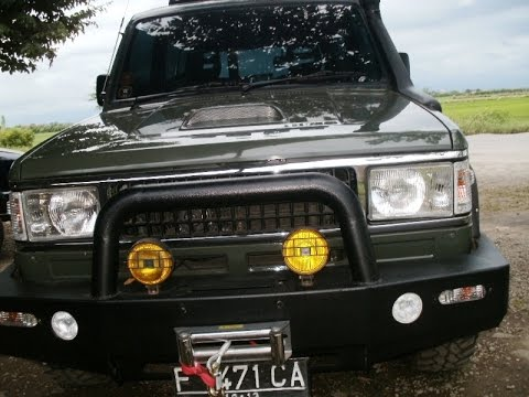 Prva Proba Isuzu Trooper Youtube