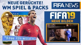 EA plant FREE WORLD CUP PACKs! 😲 Neue FIFA 19 Bilder! | FIFANEWS