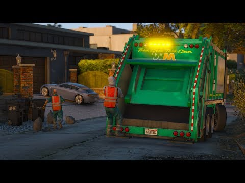 Los Santos Goes to Work - Day 40 - Trash Collection