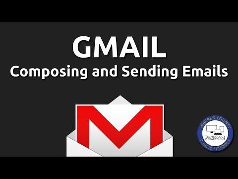 Gmail: Compose, Send, Cc, Bcc