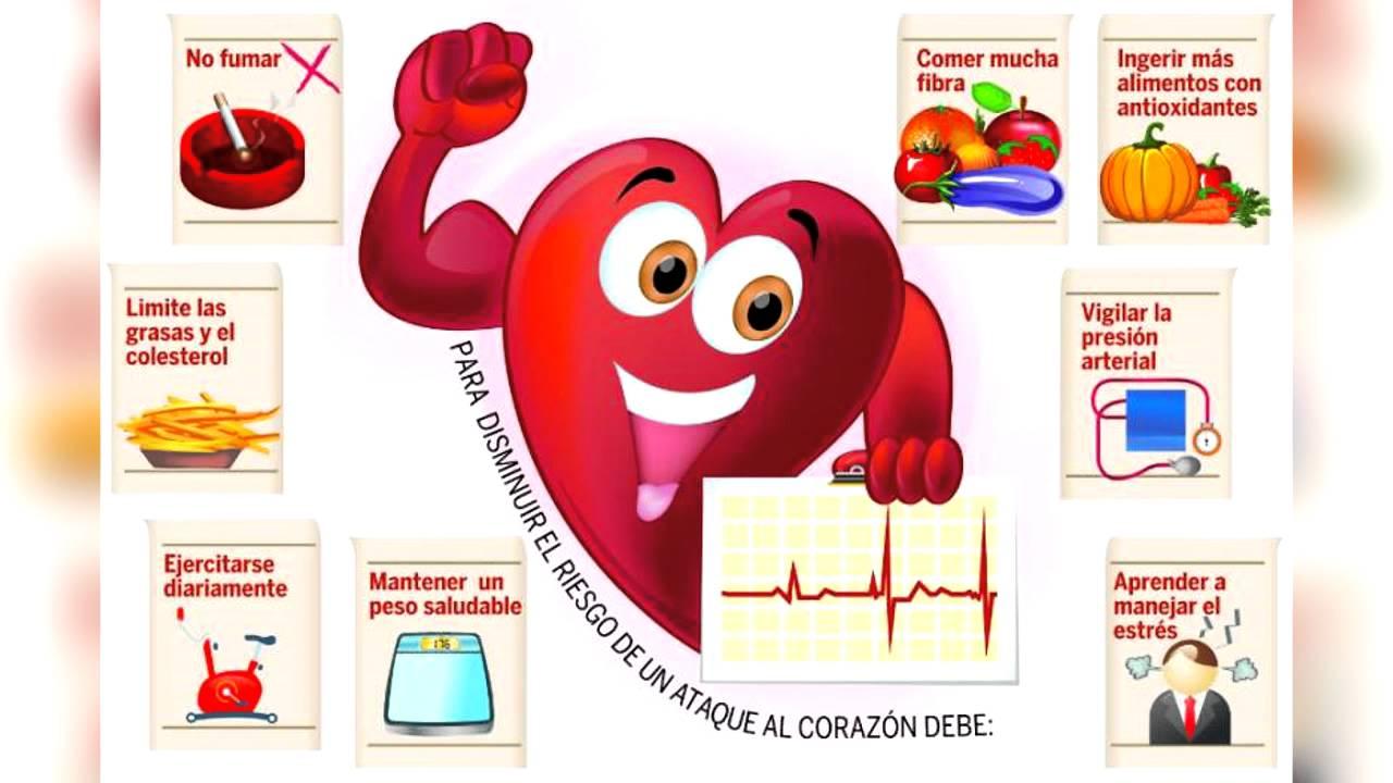 Consejos para un coraz n sano youtube - Alimentos saludables para el corazon ...