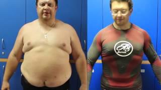 Человек похудел на 50 кг за 6 месяцев - тренер Александр Шепель