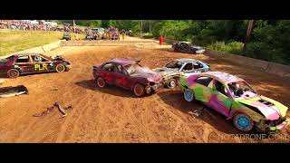 Demolition Derby Drone Video   2016 Goshen Stampede Goshen CT  CT,MA ,NY,NJ,RI,NYC Drone Photography