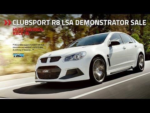 ClubSport R8 LSA Demonstrator Sale - The Motor Report
