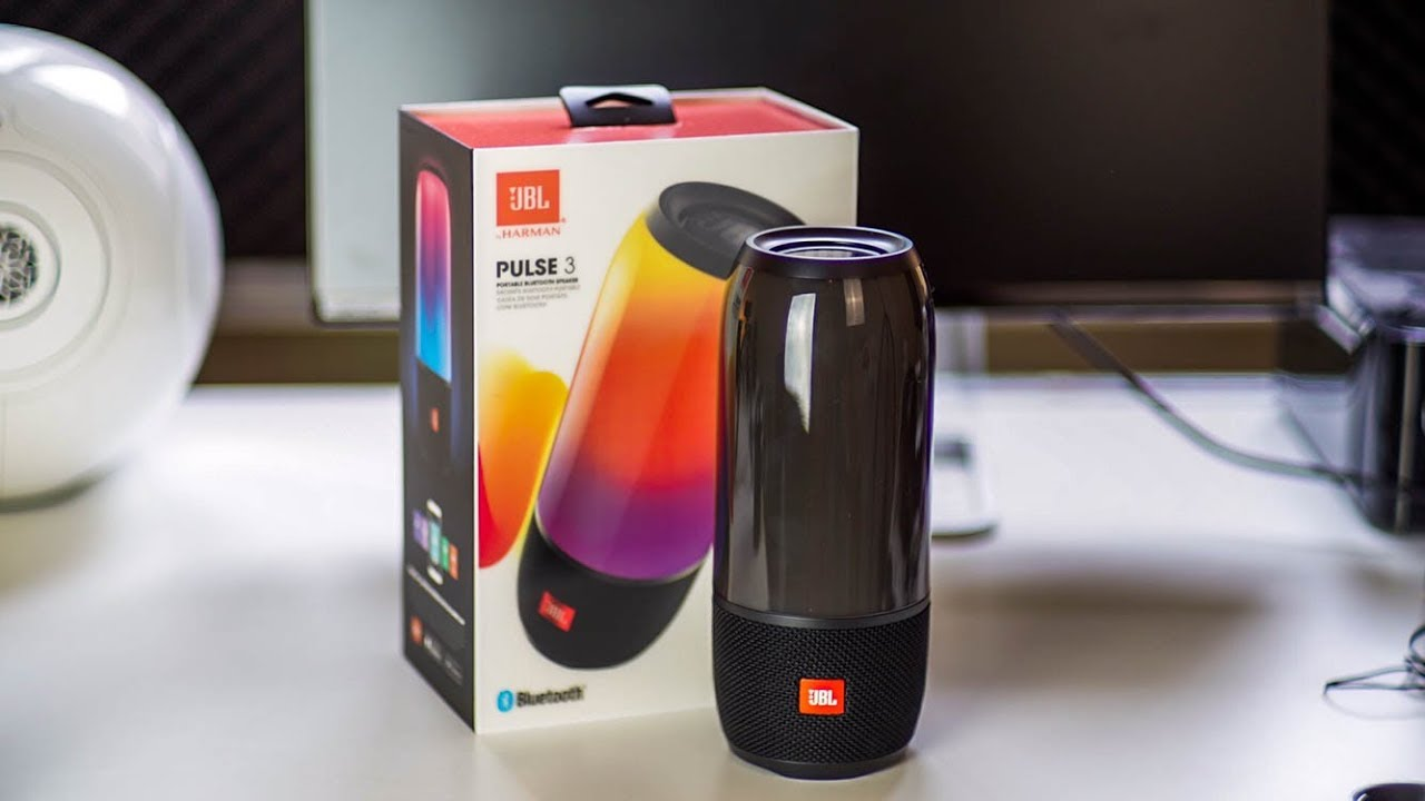 Jbl pulse 3 unboxing and first impressions youtube for Housse jbl pulse 3