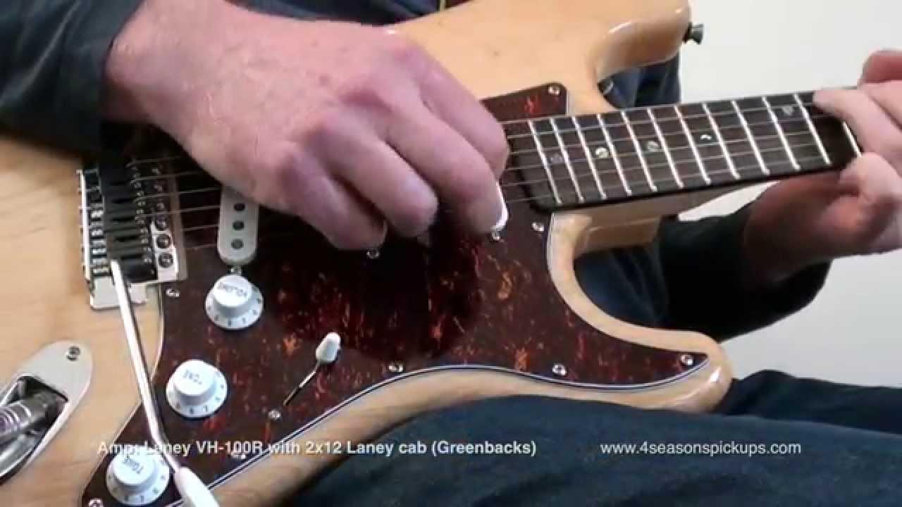 Four Seasons Pickups: Guy Smeets Signature Strat® Set - YouTube