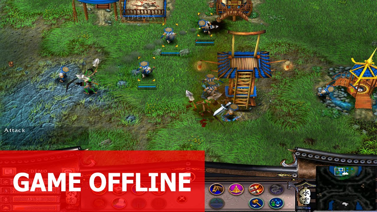 Cùng chơi Battle Realms 2 – Cơn Thịnh Nộ Của Sói