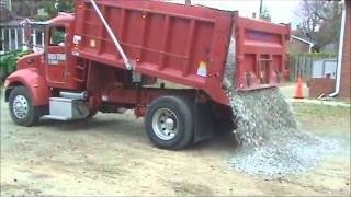 Dumping Load of Gravel