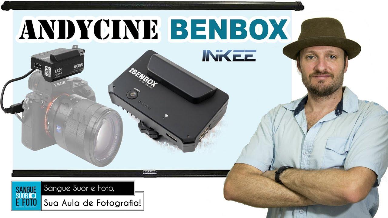 Andycine INKEE Benbox em Portugues - Transmissor de vídeo sem fio