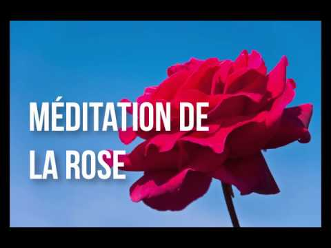Méditation de la Rose - Rose Meditation in French (Chiara's voice)