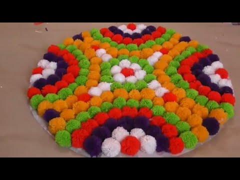 Easy Doormat Making By Self    Doormat From Woolen & Cloths    Doormat Diy