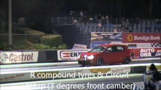 Golf 6 GTI Stage 3 HARDING PERFORMANCE drag run