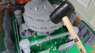 LEGO Star Wars DEUTSCH Base Destruction in Slow Motion 2