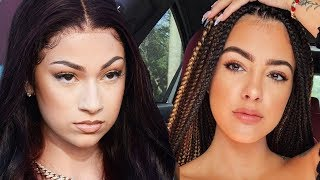 Bhad Bhabie PULLS UP to Malu's House Over NBA YoungBoy