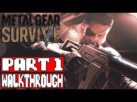 METAL GEAR SURVIVE Gameplay Walkthrough Part 1 - No Commentary