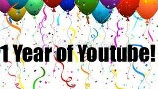 1 YEAR OF YOUTUBE! - Puberty