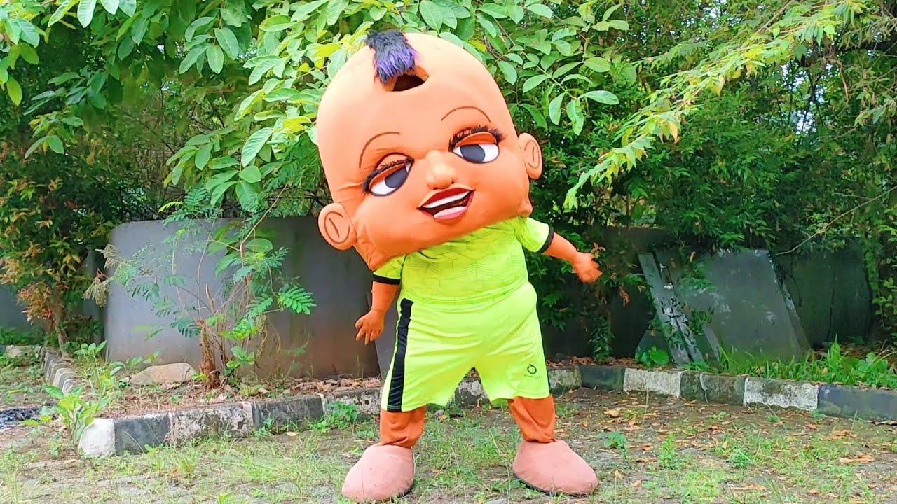 Badut Tik Tok Badut Mampang Kostum Olahraga 🤡 Boneka Mampang Lucu Joget TikTok Badut Otoy