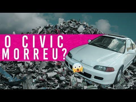 O civic morreu??? | Saga do ej1 | Garagem Piauí