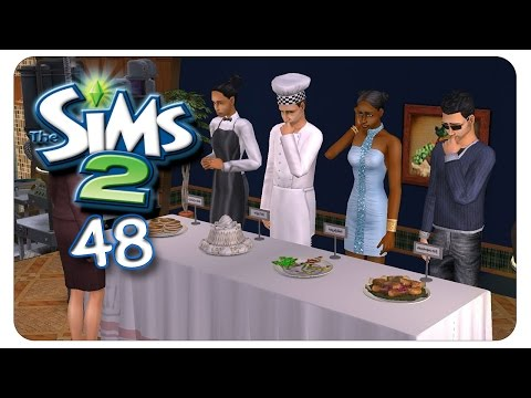 Der Kochwettbewerb #48 Die Sims 2 - Alle Addons - Gameplay [1080p]