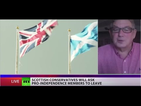 'Terrified' Tories to expel pro-independence members in Scotland