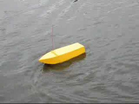 My Homemade Wooden Rc Boat