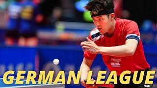 Dang Qiu (Germany) - Vladimir Sidorenko (Russia) | German League 2020/2021