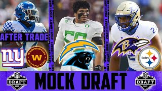2021 NFL Mock Draft POST ORLANDO BROWN TRADE | UPDATED NFL Mock Draft With Trades