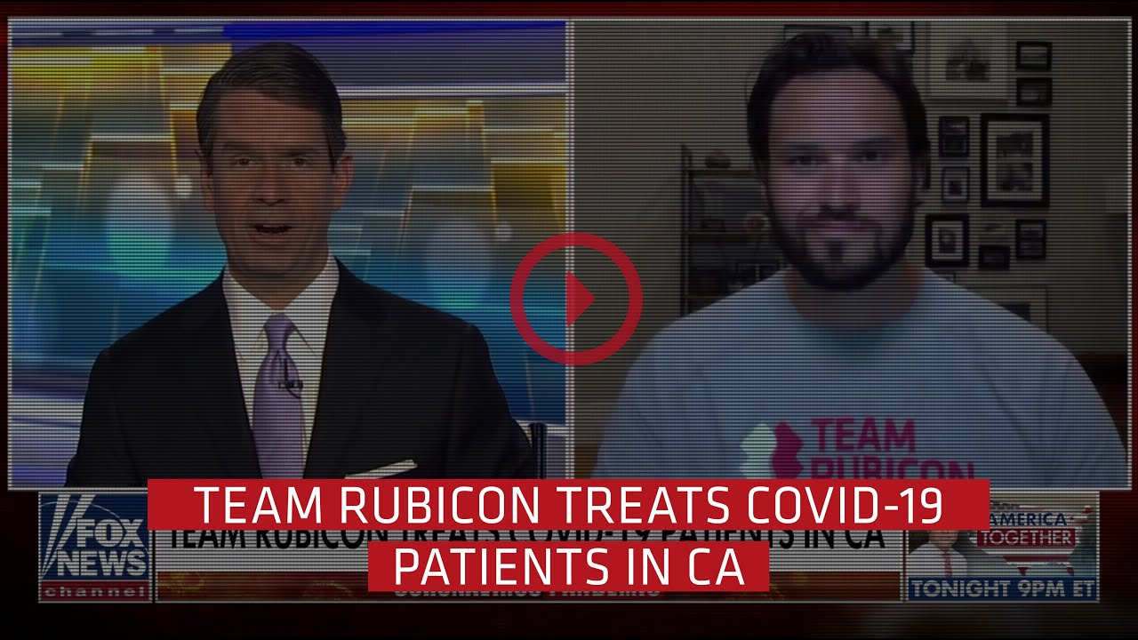 Team Rubicon opens a Field Medical Station in Santa Clara, CA providing shelter to COVID-19 patients