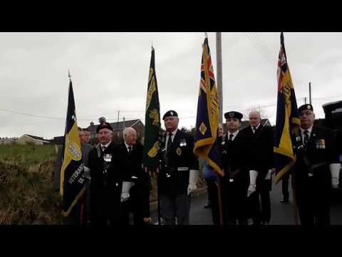 3 SCOTS MEMORIAL SERVICE WHITE BRAE LIGONIEL 5TH 3RD 2017