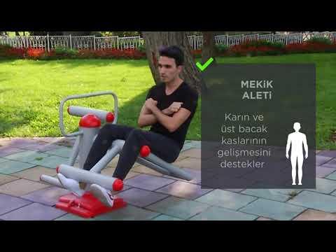Sokak Egzersizleri | Mekik Aleti