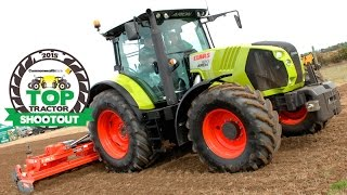Top Tractor Shootout 2015 Claas Arion 630 CIS
