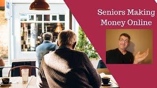 Seniors making money online - what 82 ...