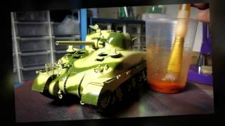Building Dragon Smart Kit El Alamein Sherman From Start To Finish. 1/35 Scale In Hd