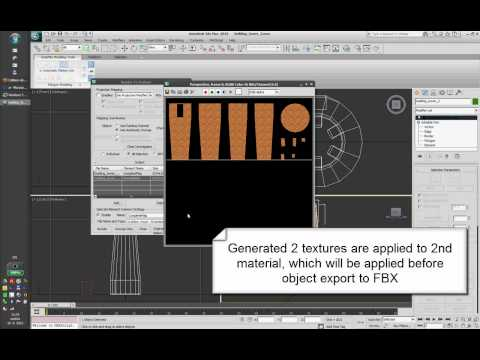 Project NN - Making of Tower (Textured model into XNA)