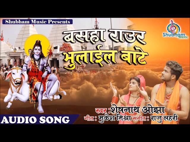 बसहा राउर भुलाईल बाटे   Bhola Ke Bhajan   Superhit Kawar Bhajan 2018   Sheshnath Ojha