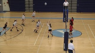 JV Volleyball: Thomas Jefferson at Yorktown 2016